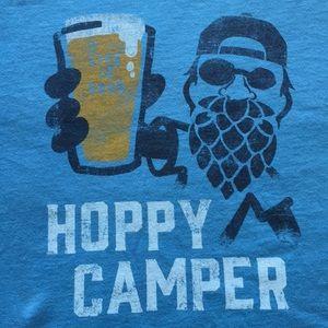 NWT Life is Good - Hoppy Camper T-Shirt